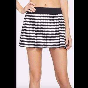 NWT Kate Spade NY Georgica stripe coverup skirt